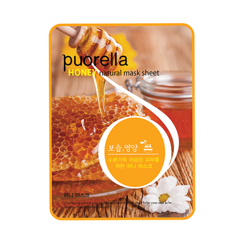 PUORELLA Natural Mask Sheet Hoeny