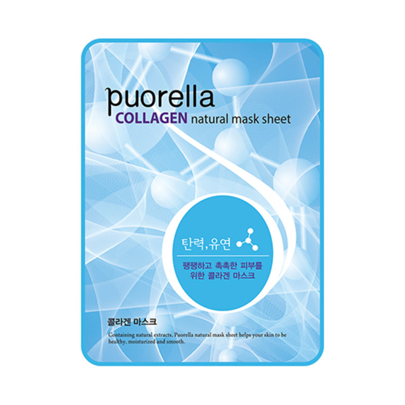 PUORELLA Natural Mask Sheet Collagen