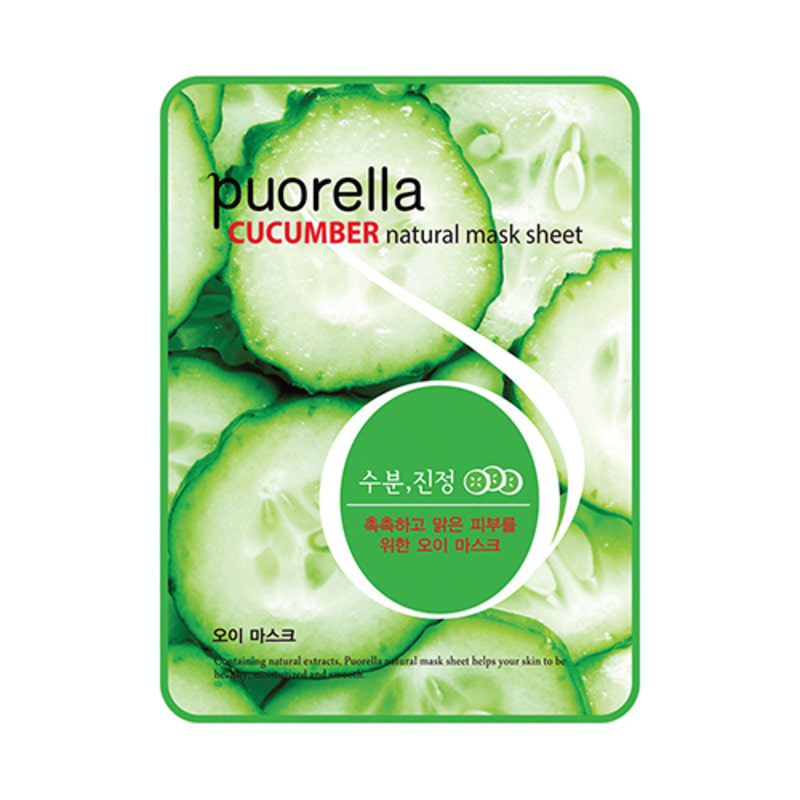 PUORELLA Natural Mask Sheet Cucumber