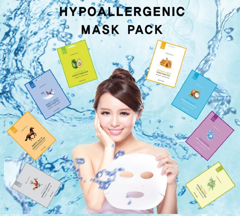 BONNYHILL Skin Maching Hypoallergenic Mask Pack 5 23g