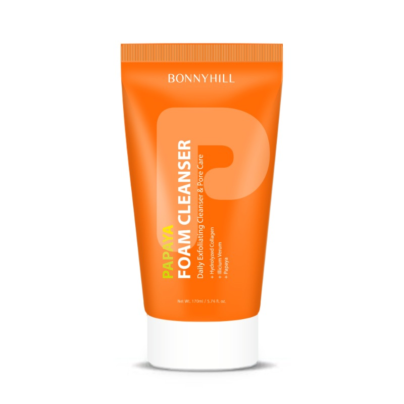 Bonnyhill Papaya Foam Cleanser 170ml